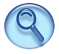 Articles Magnifying Glass Icon